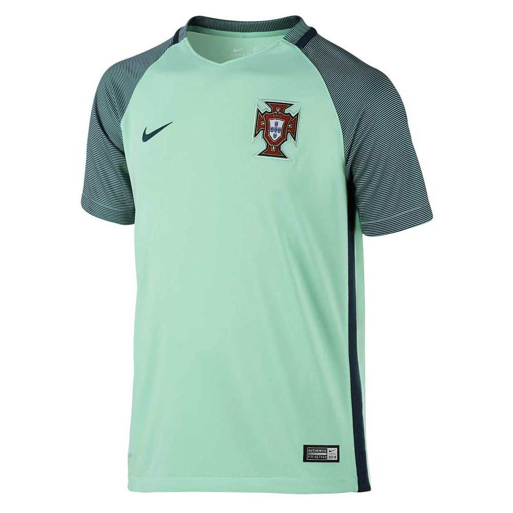 t shirt portugal away junior green glow nightshade nightshade goalinn. Black Bedroom Furniture Sets. Home Design Ideas