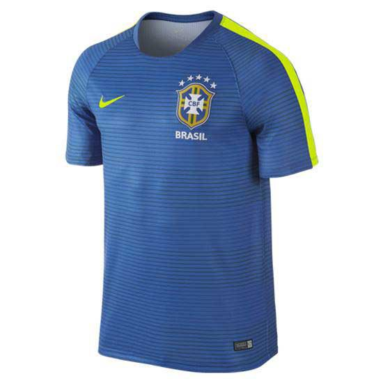 Nike T Shirt Brasil Pre Match Flash II Training