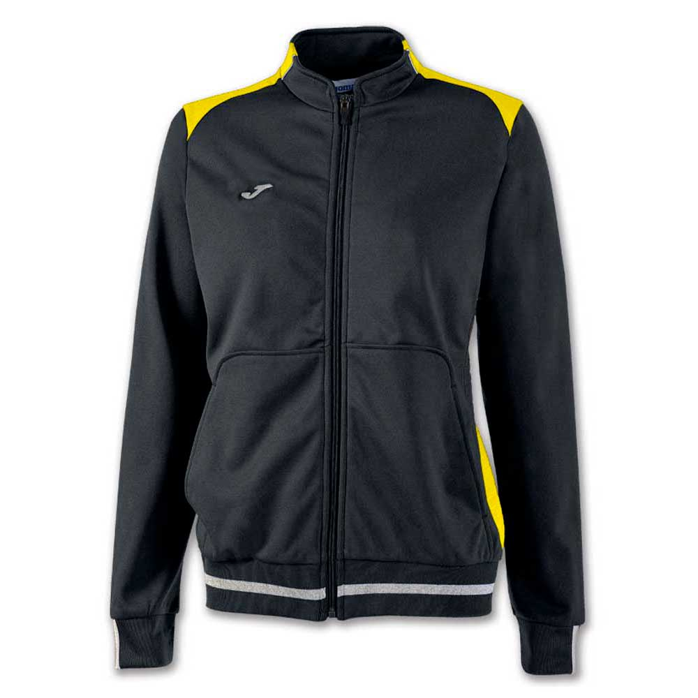 115305358c Joma Campus Il Jacket Black buy and offers on Goalinn