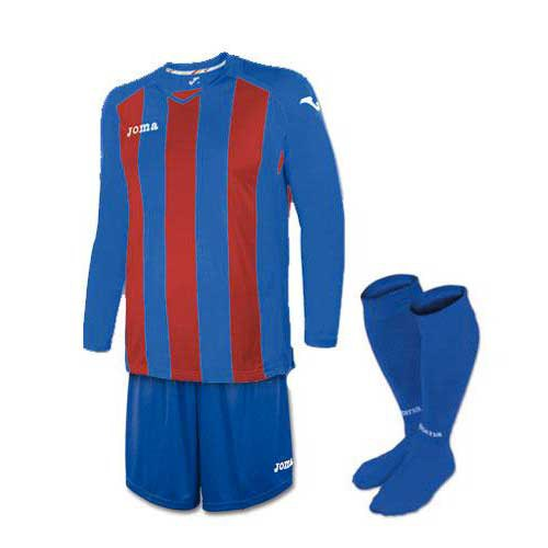 Joma Pisa 12 Striped Set L/S Junior