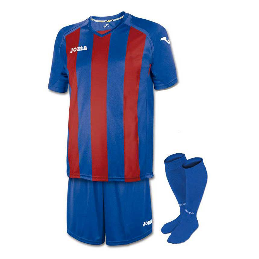 Joma Pisa 12 Striped Set S/S Junior
