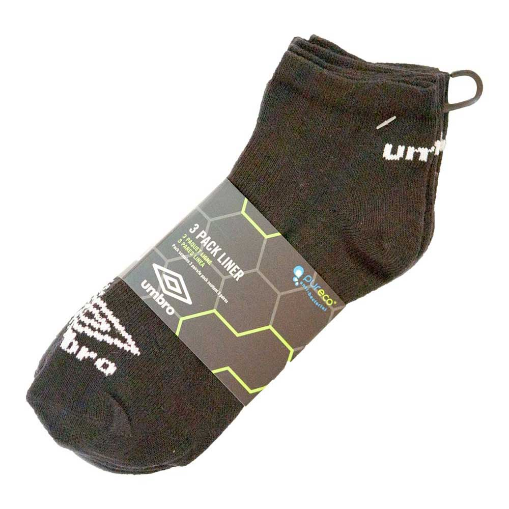 af25b9dcc591 Umbro Liner Sock 3 Pack - Grey buy and offers on Goalinn