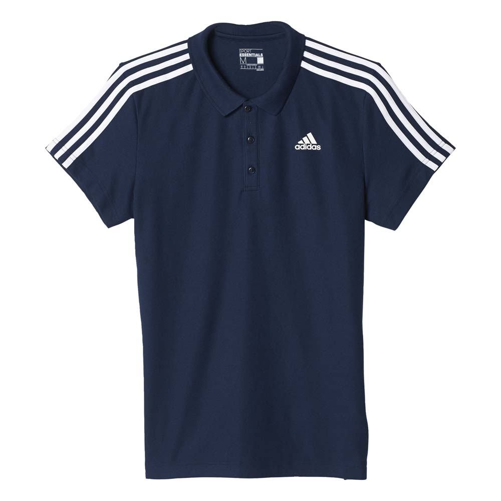 adidas Essentials 3 Stripes Polo
