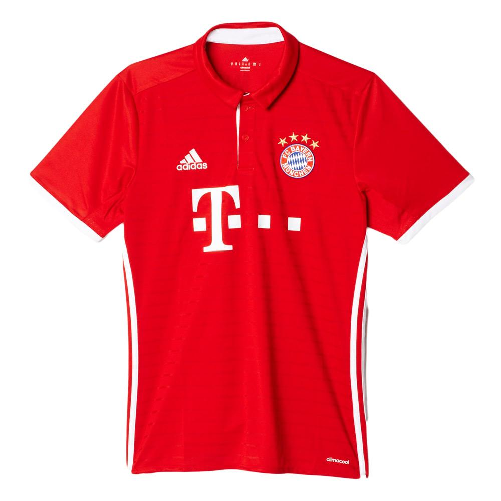 adidas FC Bayern Munchen Home Replica Player Jersey