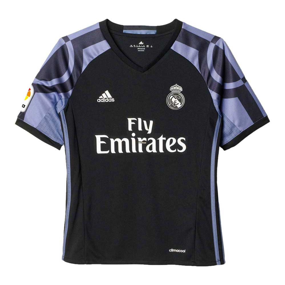adidas Real Madrid 3rd 16 17 Black buy and offers on Goalinn ed392eb6b