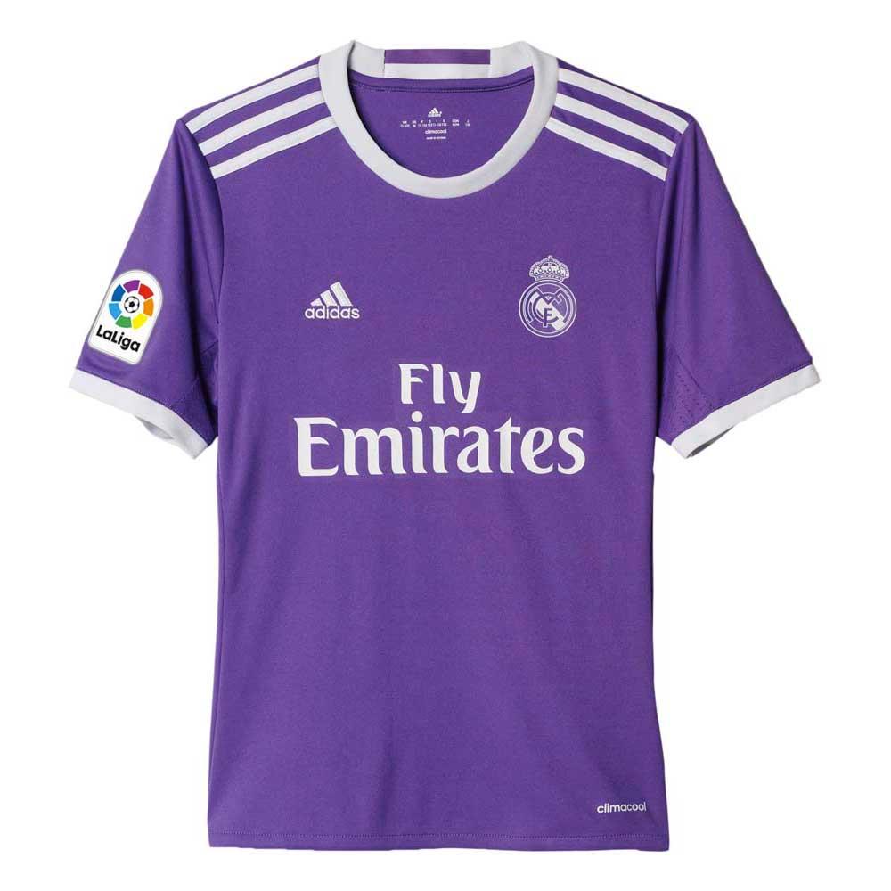 ba1b749188b adidas Real Madrid Away 16/17 Purple buy and offers on Goalinn