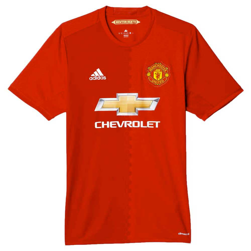 adidas Manchester United FC Home Replica Player Jersey