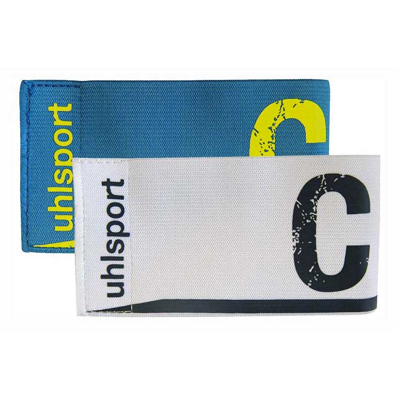 Uhlsport Captains Armband (Cyan. White)