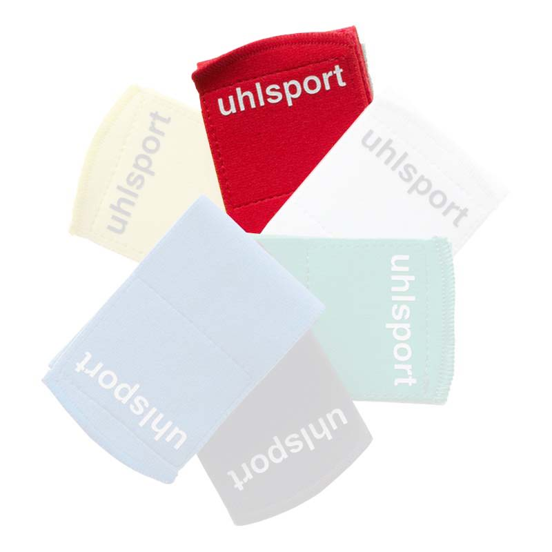 Uhlsport Shinguard Fastener 65 mm 3 Packs X 2