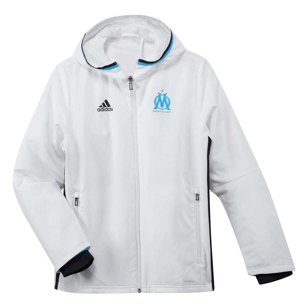 adidas Olympique Marsella Pre Jacket Junior