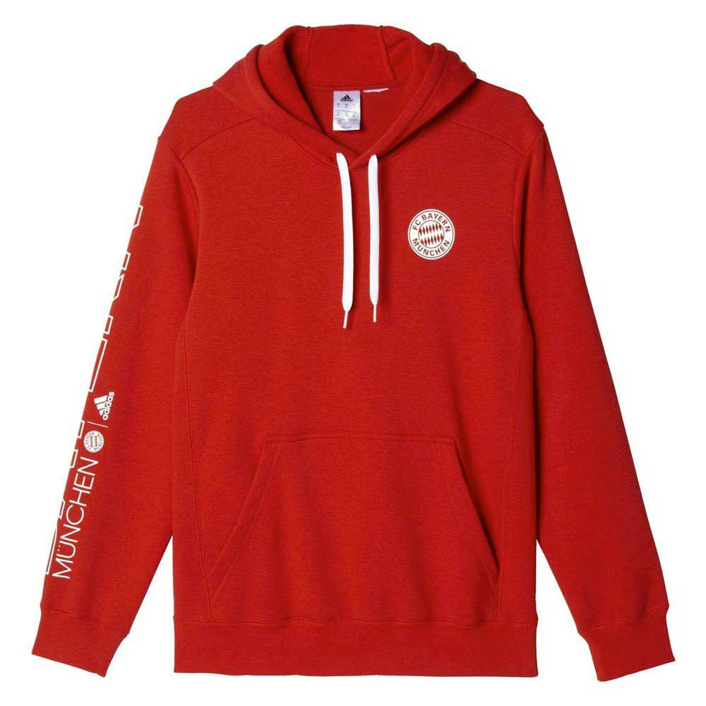 adidas fc bayern munchen co hoodie buy and offers on goalinn. Black Bedroom Furniture Sets. Home Design Ideas