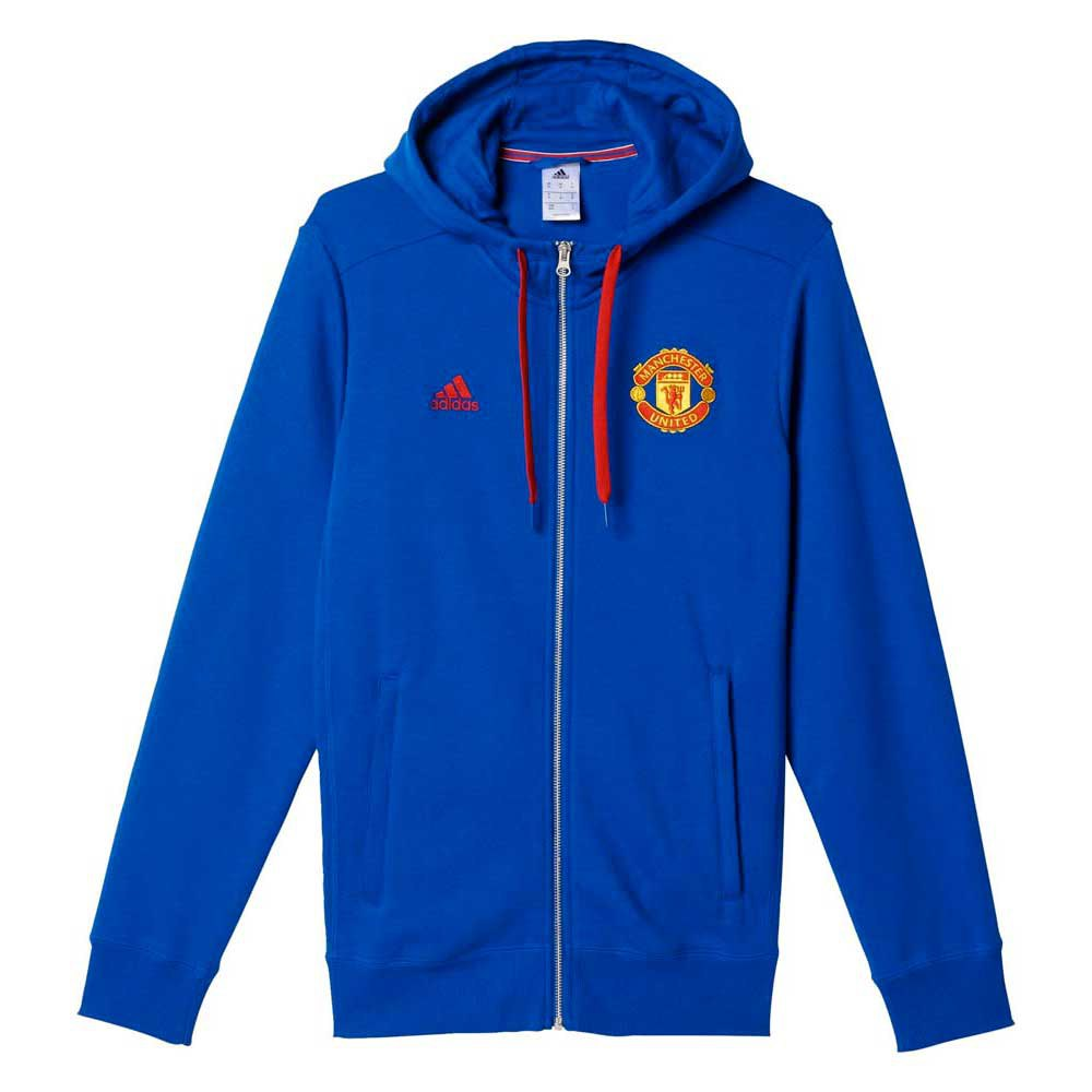 adidas Manchester United 3S Hoodie Zipper