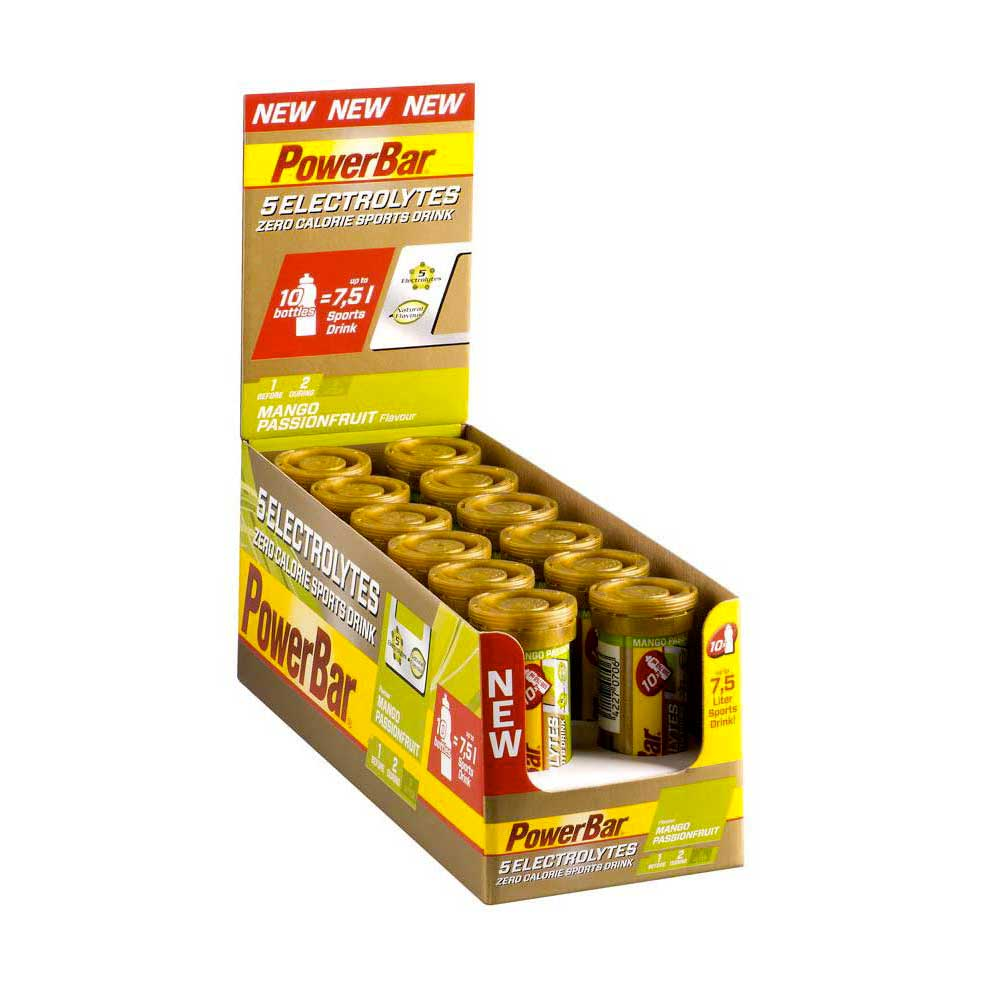 Powerbar 5Electrolytes 40gr x 10 Tablets x 12 Tube