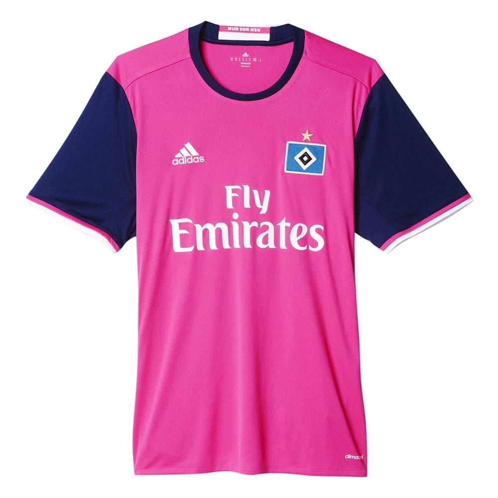 Adidas Hamburg Sv Away 16 17 Pink Buy And Offers On Goalinn