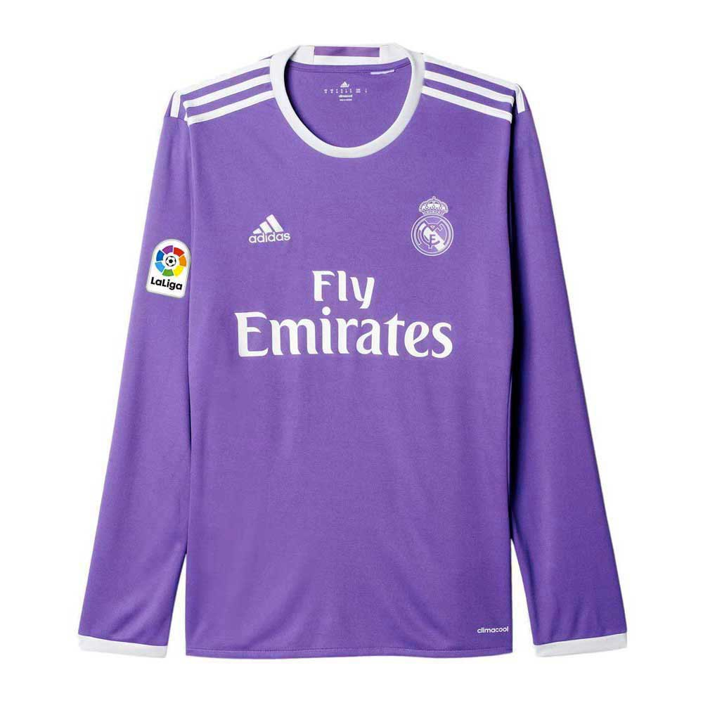 adidas Real Madrid Away Jersey LS