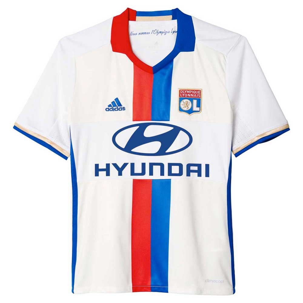 adidas olympique lyon home jersey junior comprar y ofertas en goalinn. Black Bedroom Furniture Sets. Home Design Ideas