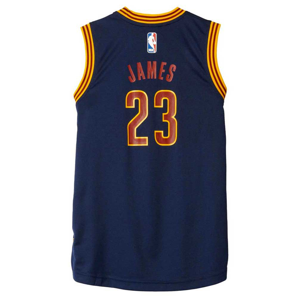 super popular 713c2 29c21 adidas LeBron James Jersey And Short Junior