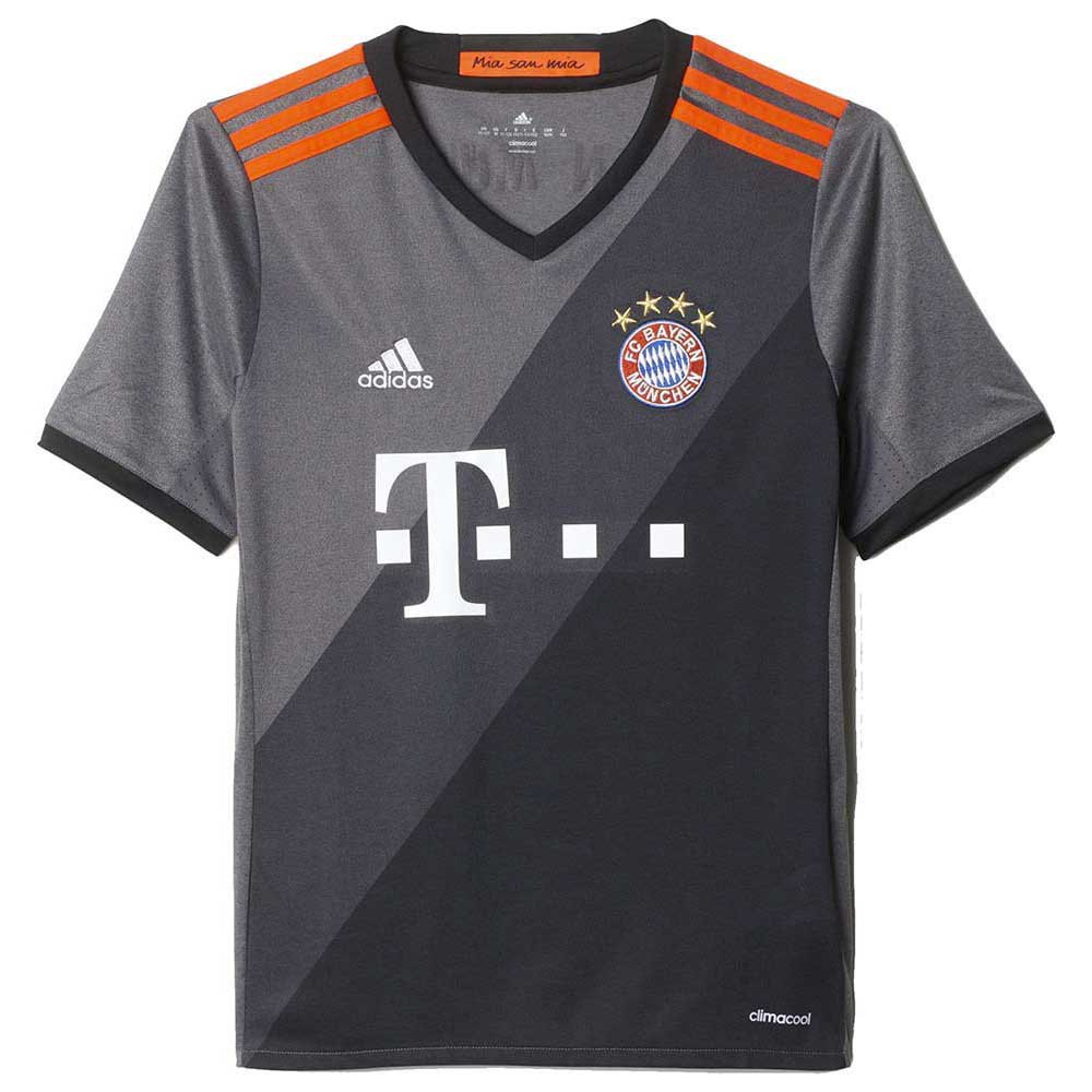 adidas fc bayern munchen away jersey junior goalinn. Black Bedroom Furniture Sets. Home Design Ideas
