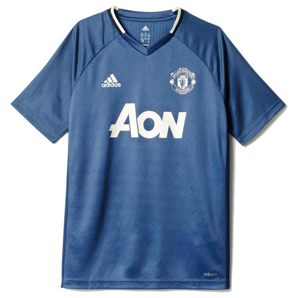 buy popular d7fa1 d9d5d adidas Manchester United FC Training Jersey Junior