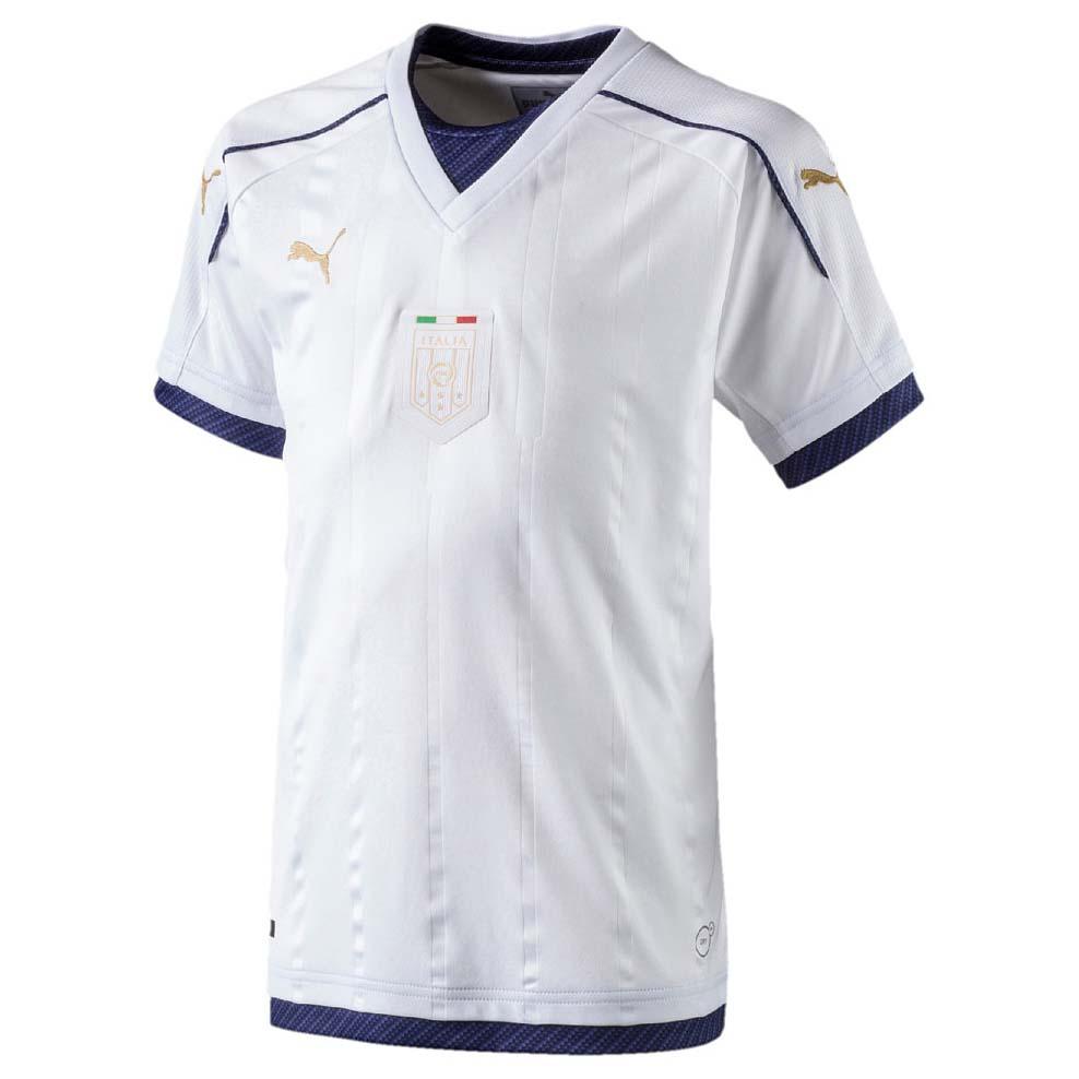 Puma FIGC Italia Tribute Away Shirt Replica Junior Blanco ce4c512783daf
