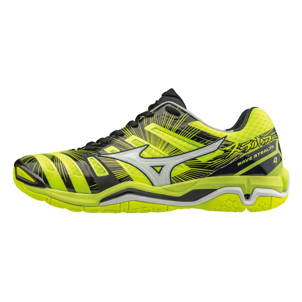 mizuno wave yellow