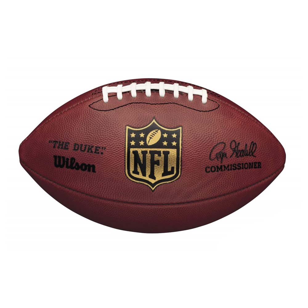 Wilson NFL Duke Game Leather Football Official