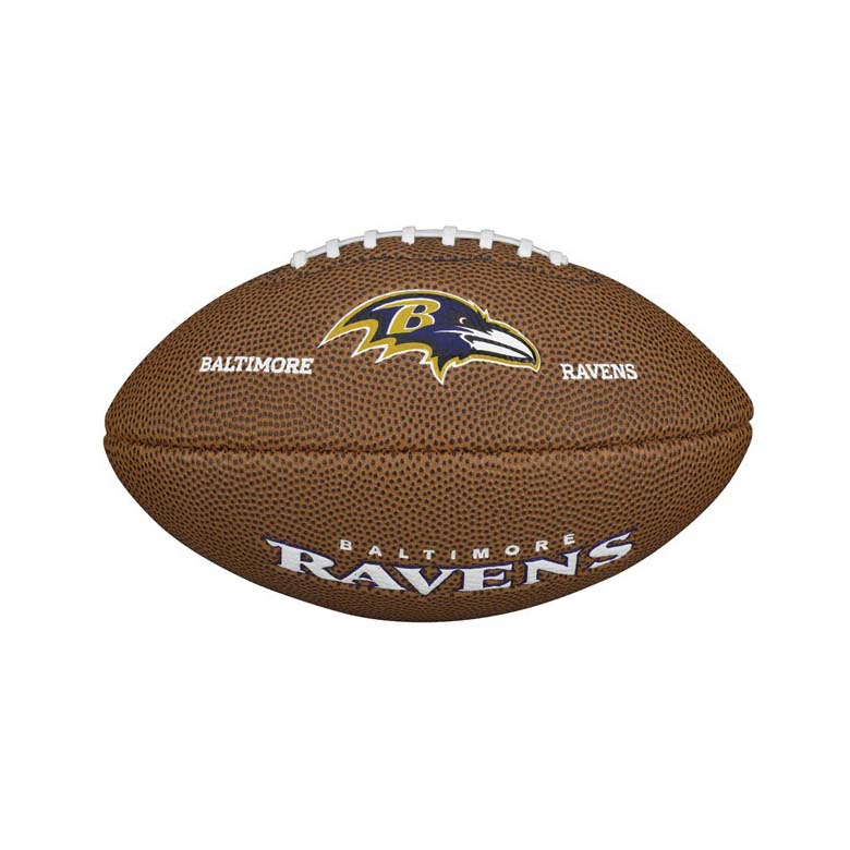 Wilson NFL Team Logo Baltimore Ravens Mini