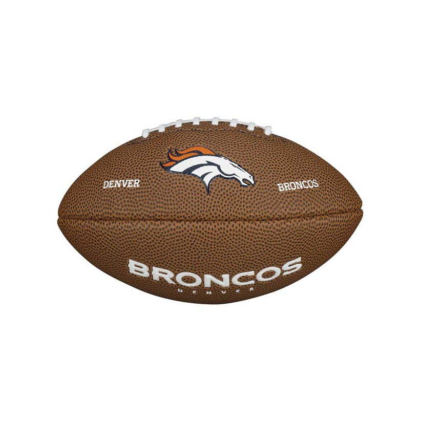 Wilson NFL Team Logo Denver Broncos Mini