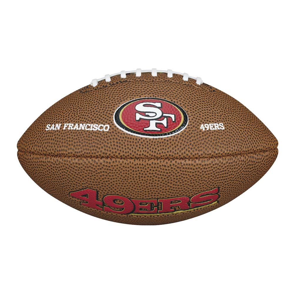 Wilson NFL Team Logo San Francisco 49ers Mini