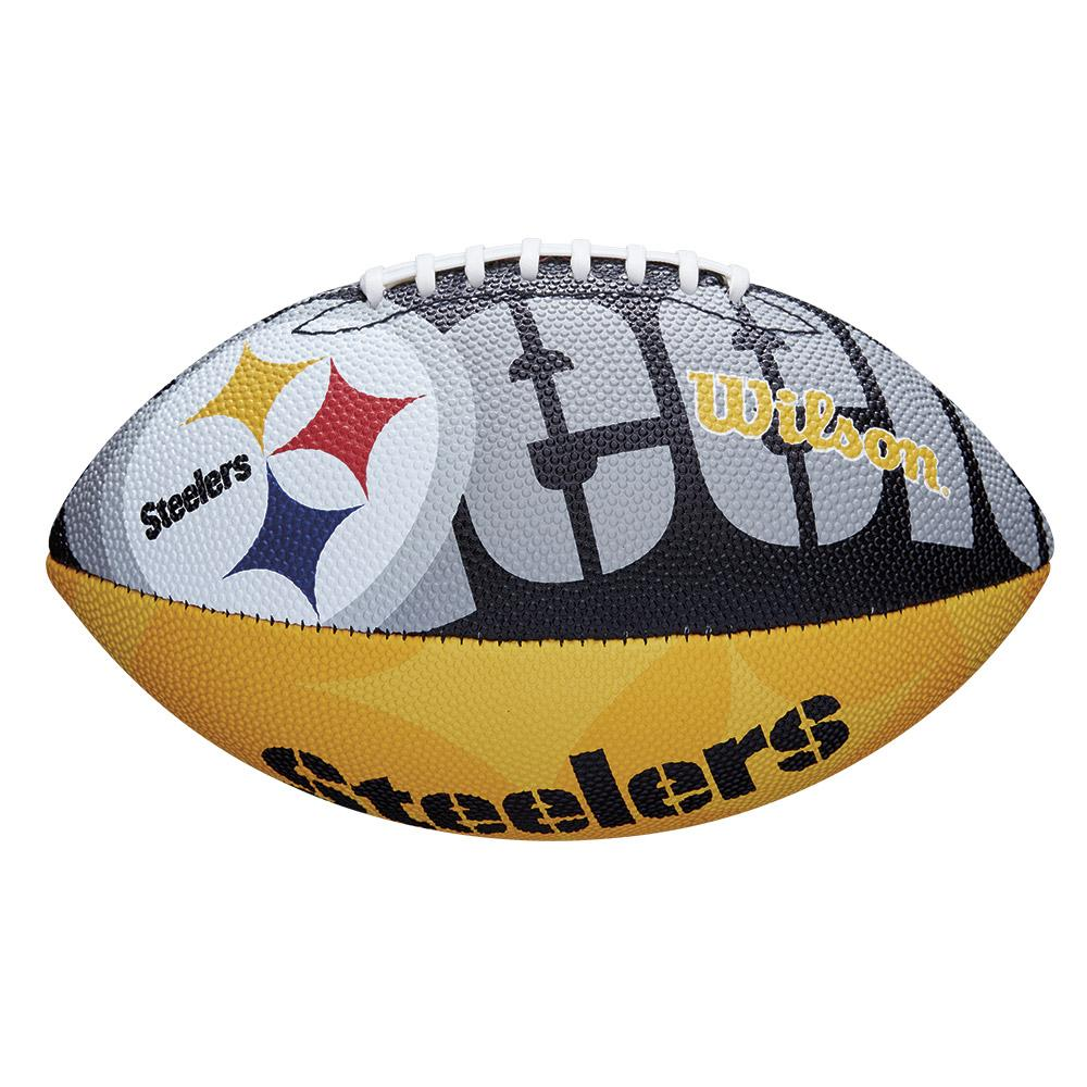 Wilson NFL Team Logo Pittsburgh Steelers Junior Official