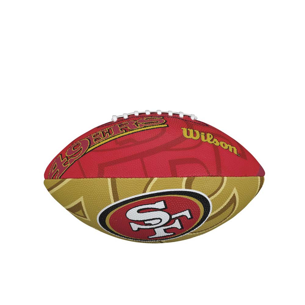 Wilson NFL Team Logo San Francisco 49ers Junior Official
