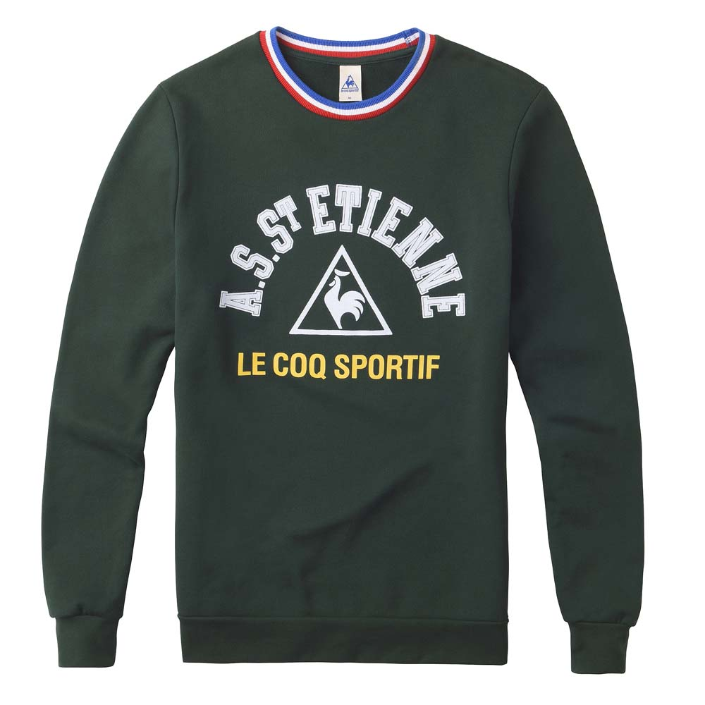 Le coq sportif AS Saint Etienne Goral Sweat Crew