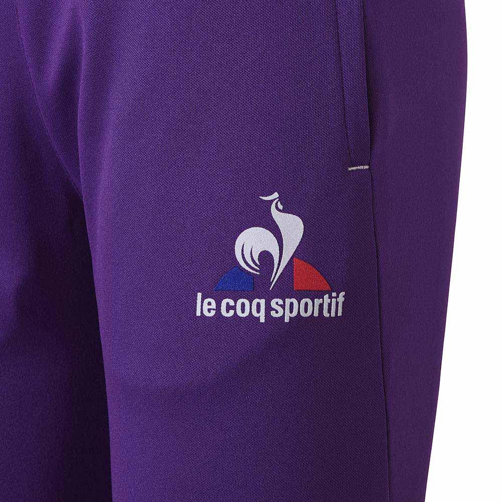 le coq sportif pantalon homme violet