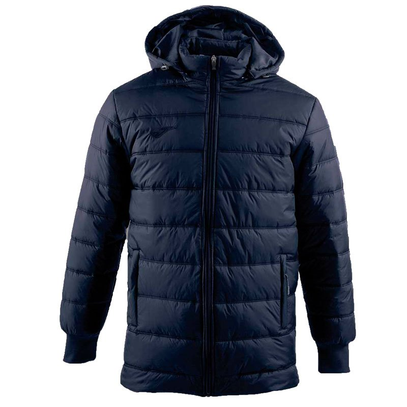 Joma Piumino Giubbino giacca invernale Blu ANORAK Parka
