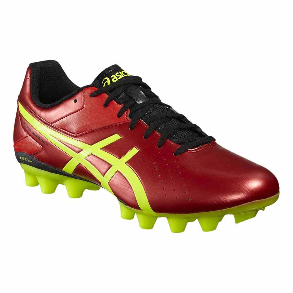 Asics Lethal Speed RS FG Football Boots Red, Goalinn