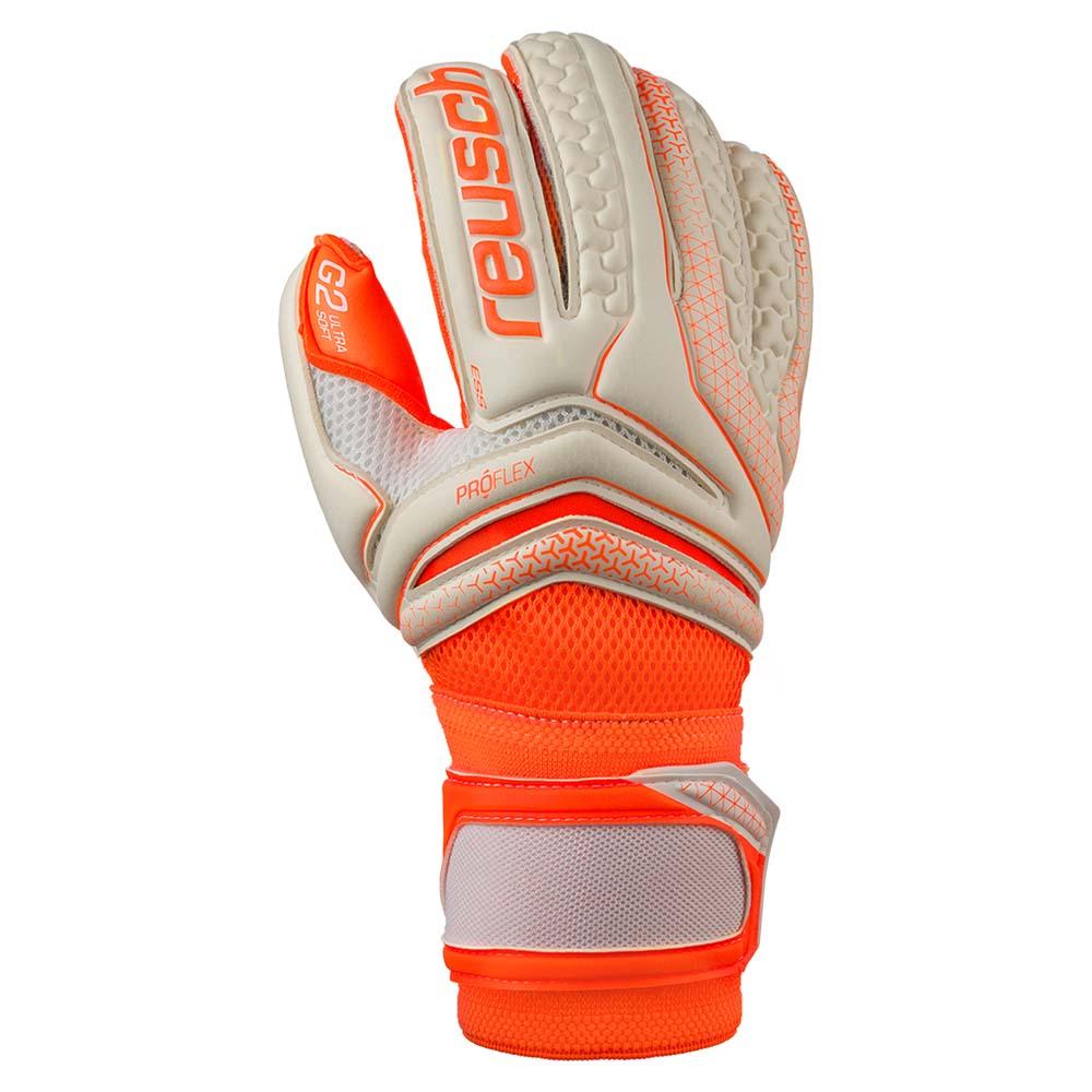 Reusch Serathor Pro G2 Evolution White Shocking Orange  a7feaa84fe
