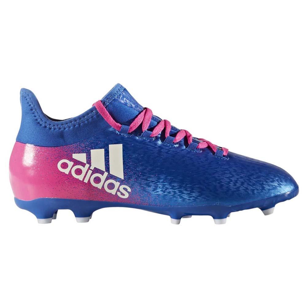 c411b2b892 adidas X 16.1 Fg Blue buy and offers on Goalinn