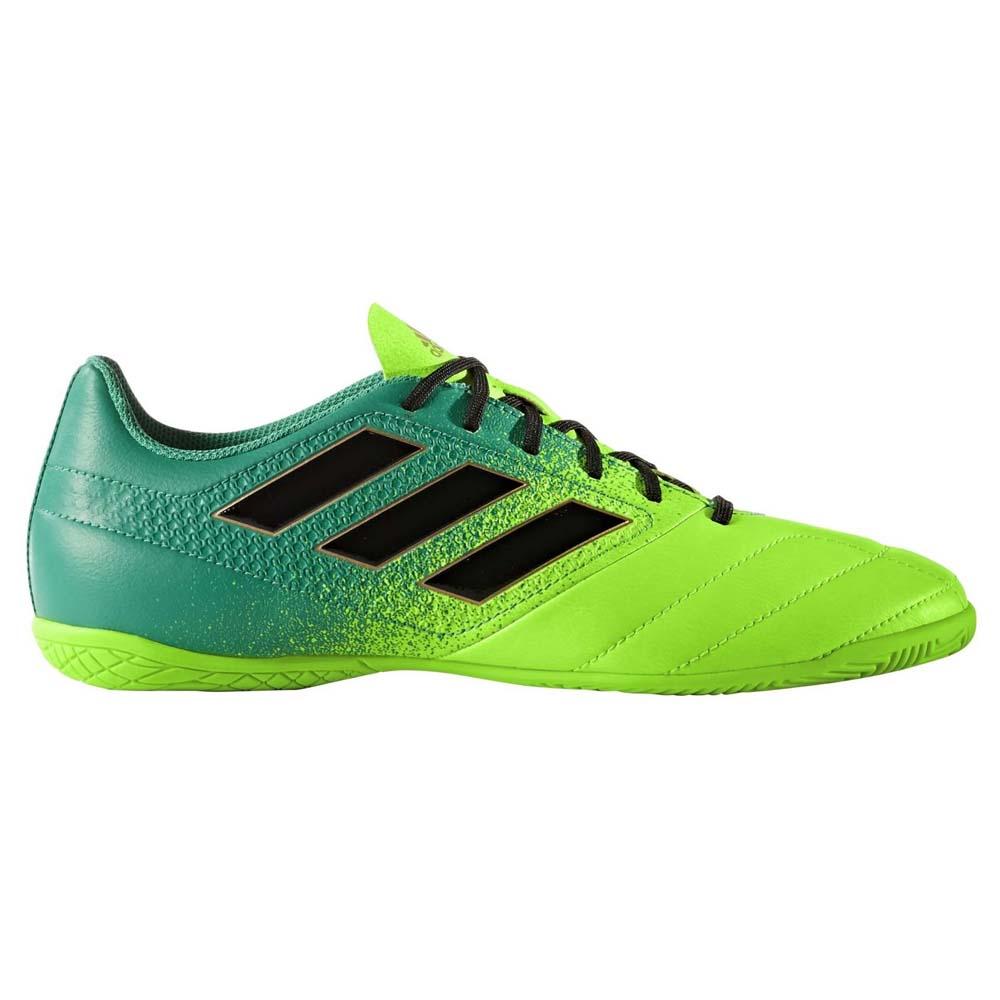 buy popular 672aa 4da4c adidas ACE 17.4 IN Solar Green Core Black Core Green