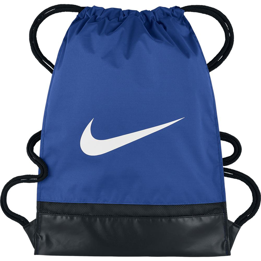 c4715fe68f84 Nike Brasilia Gym Sack Game Royal   Black   White