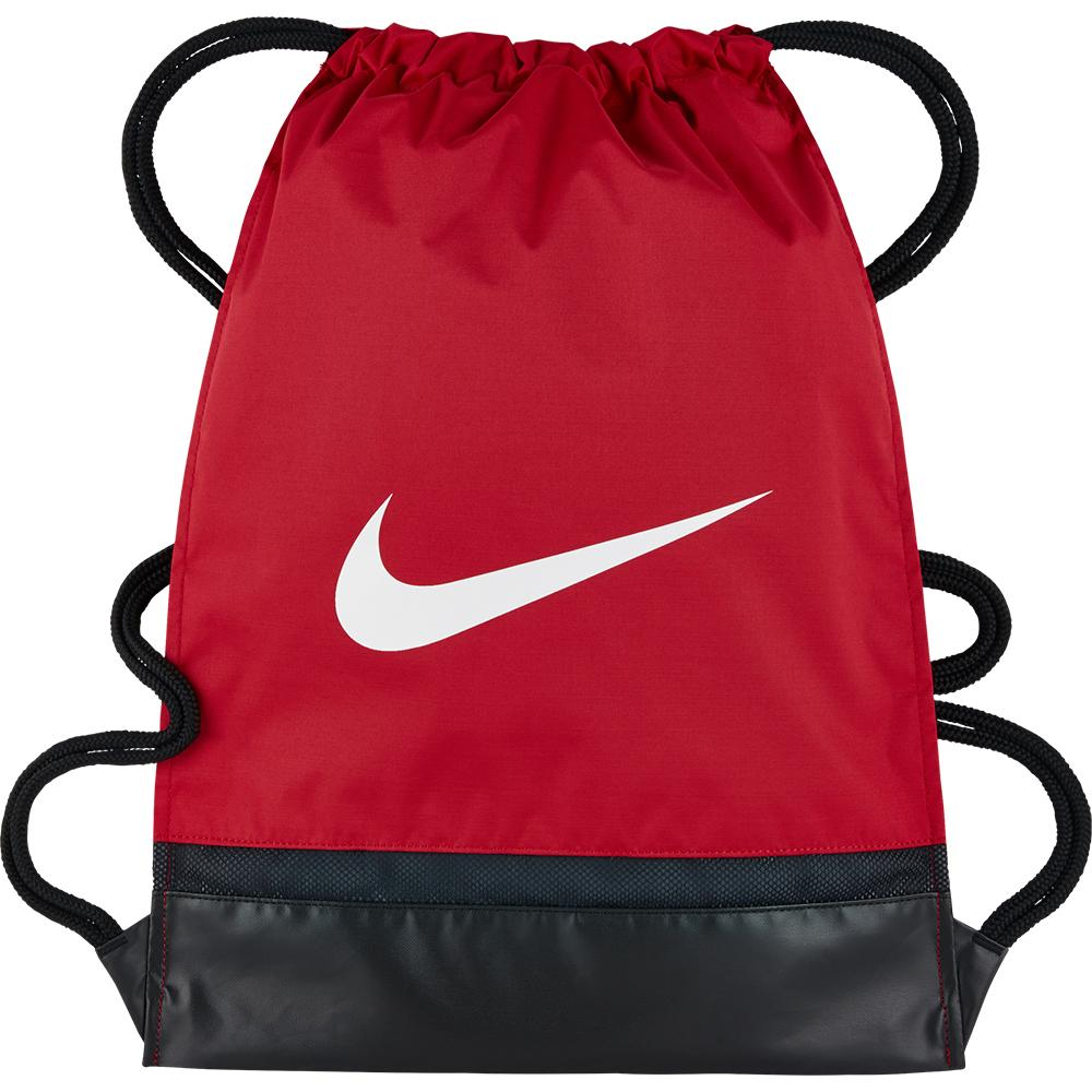 4bf83f79da06 Nike Brasilia Gym Sack University Red   Black   White