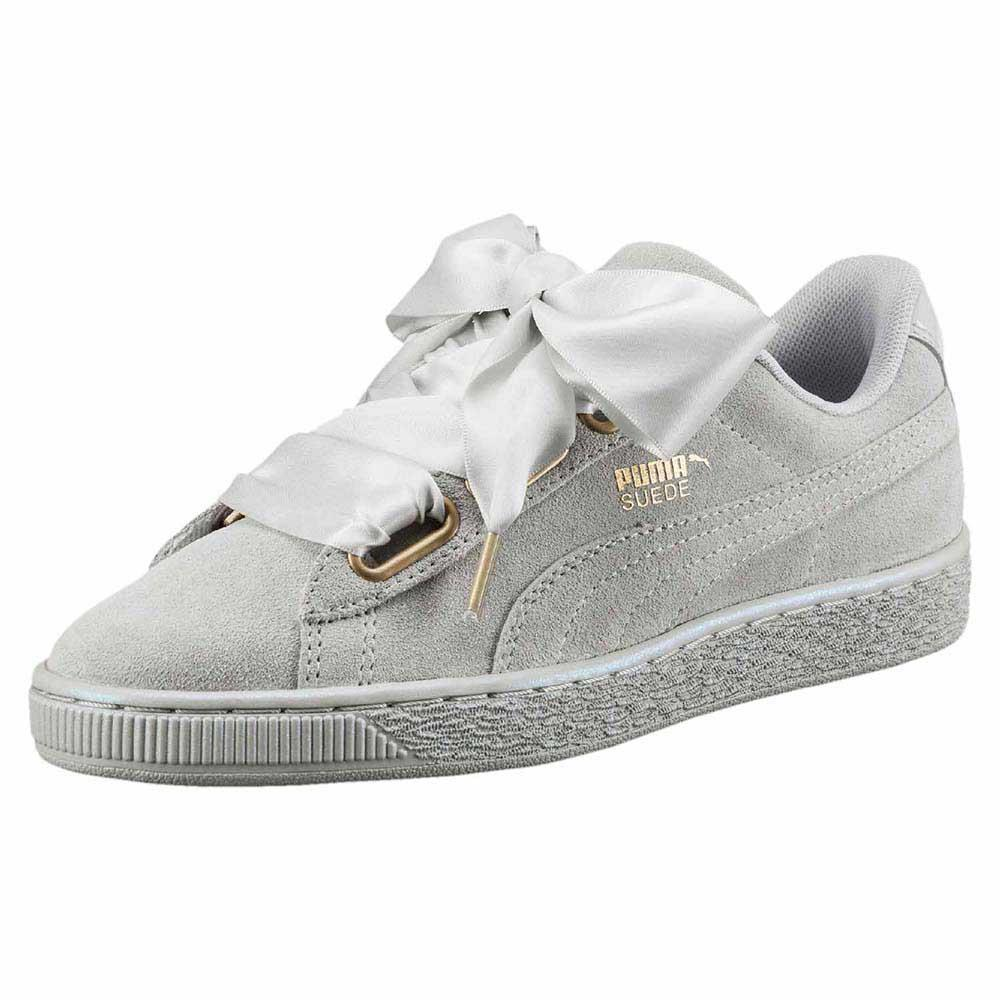 Puma Basket Heart Wildleder