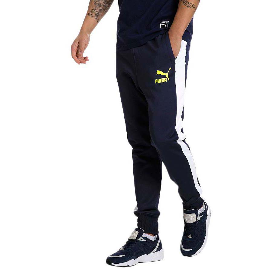 3e59e80661fd Puma Archive T7 Track Pants Blue buy and offers on Goalinn