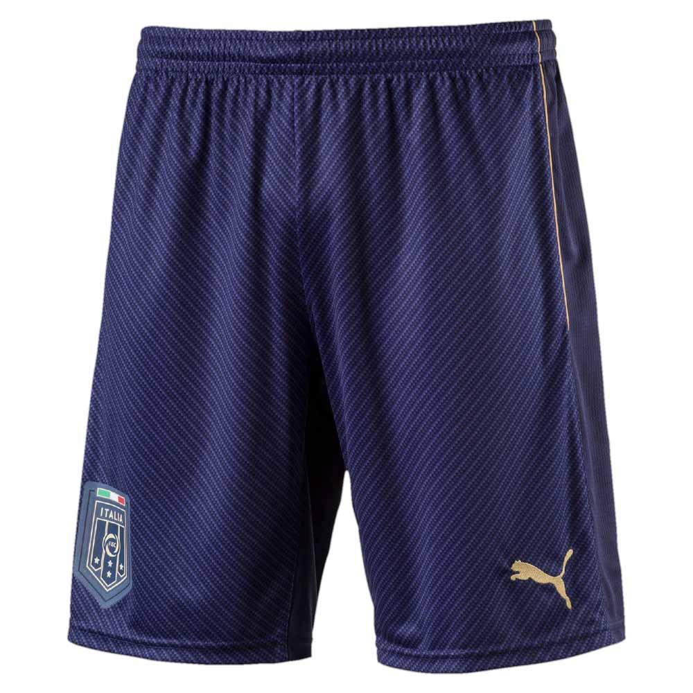 Puma FIGC Italia Tribute Away Replica Short Pants Blue 298dba8409d4c