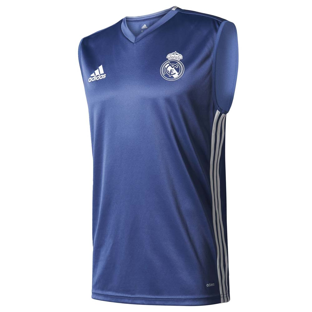 release date: 3b654 ad76d adidas Real Madrid Training Sleeveless Jersey , Goalinn