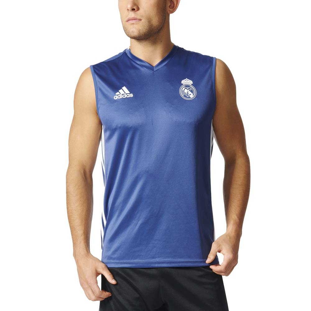 release date: cbefb 2e443 adidas Real Madrid Training Sleeveless Jersey , Goalinn