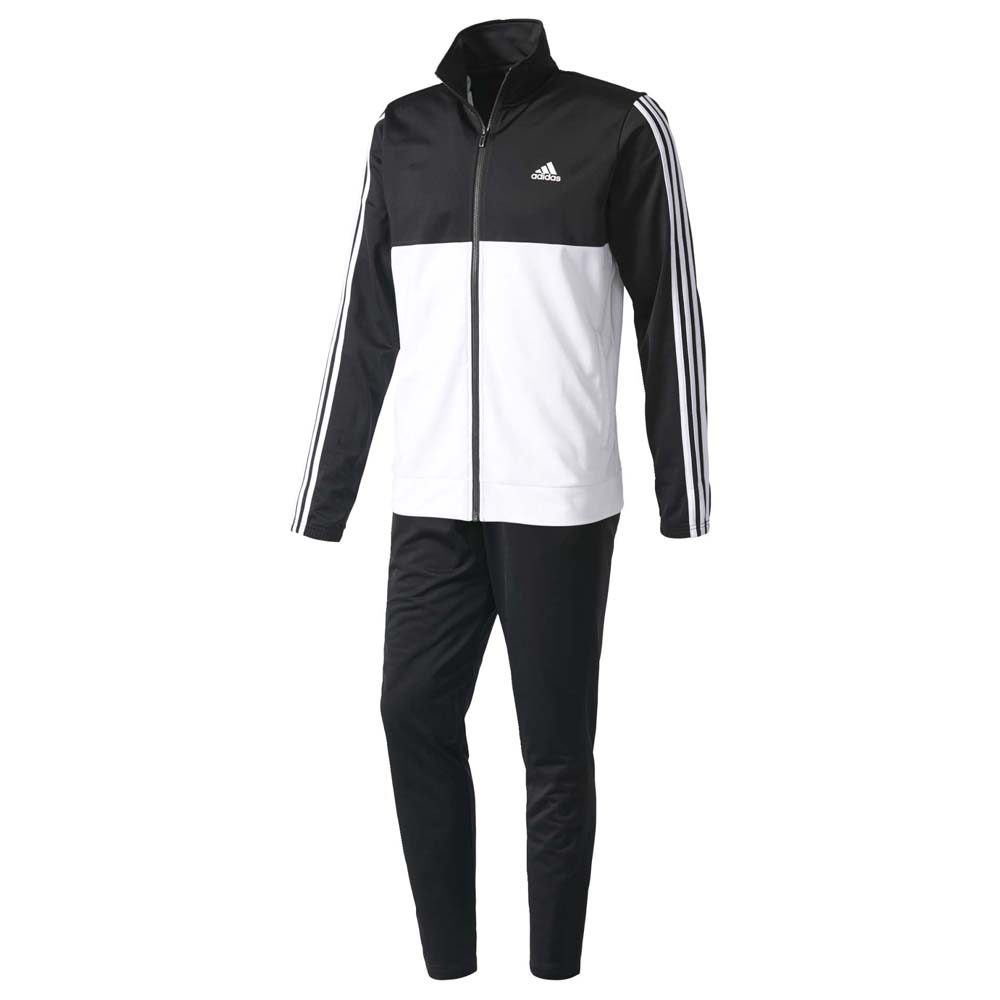 adidas Back 2 Basic 3 Stripes Tracksuit Branco 37f9aa4988bd3
