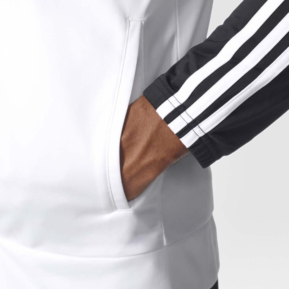 2a613fa3df94 adidas Back 2 Basic 3 Stripes Tracksuit White