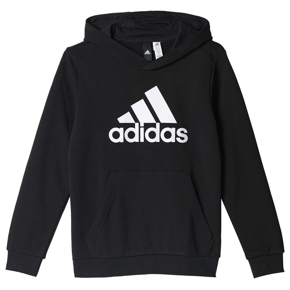 adidas Essentials Logo Hoodie Black buy and offers on Goalinn 0c8268a381b