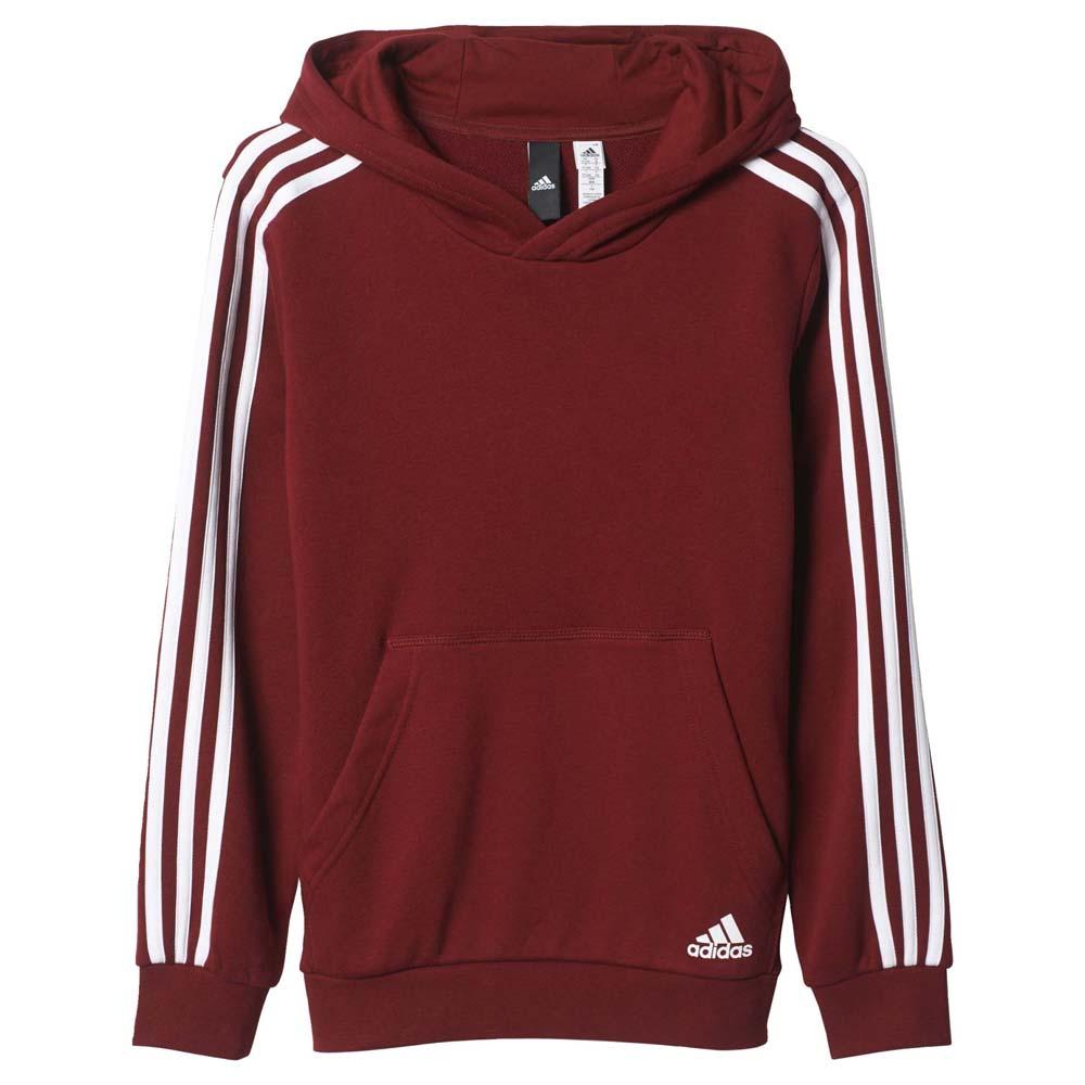 cad9df4433c1 adidas Essentials 3 Stripes Hoodie buy and offers on Goalinn