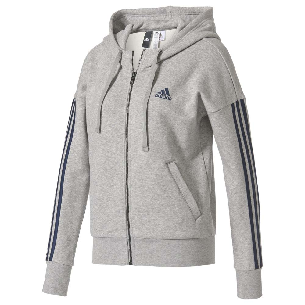 27e78a5c8 adidas Essentials 3 Stripes Full Zip Hoodie , Goalinn